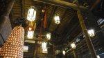 古色古香的樑柱及燈籠