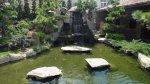 水池景觀特寫