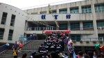 畢業典禮在體育館舉行