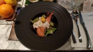 主廚特製鮭魚沙拉